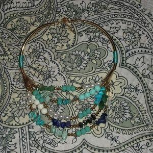 Statement necklace/ costume jewelry